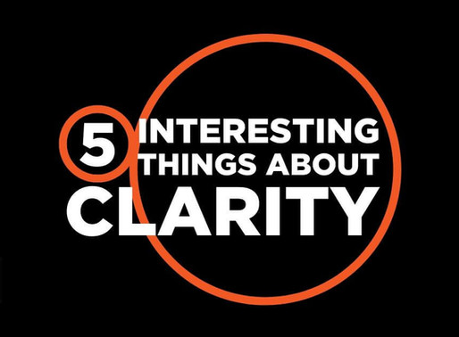 Infographic: 5 interesting things about clarity.