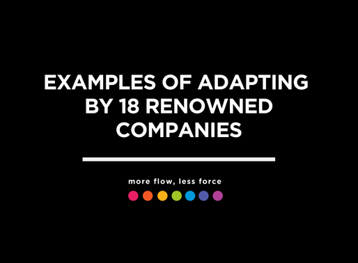 Examples of Adapting by 18 Renowned Companies