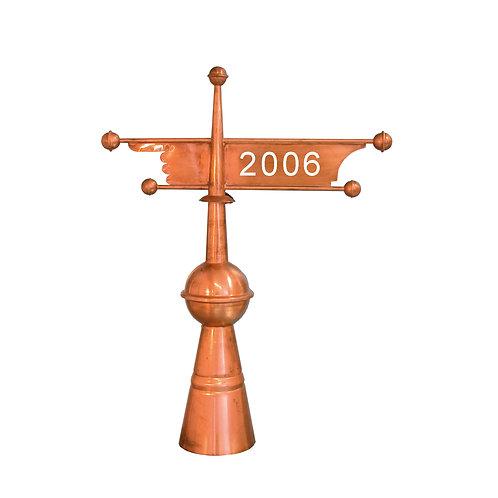 Windfahne Standard (aus Kupfer)