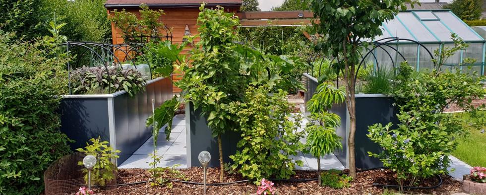 Hochbeet mit Bewässerung