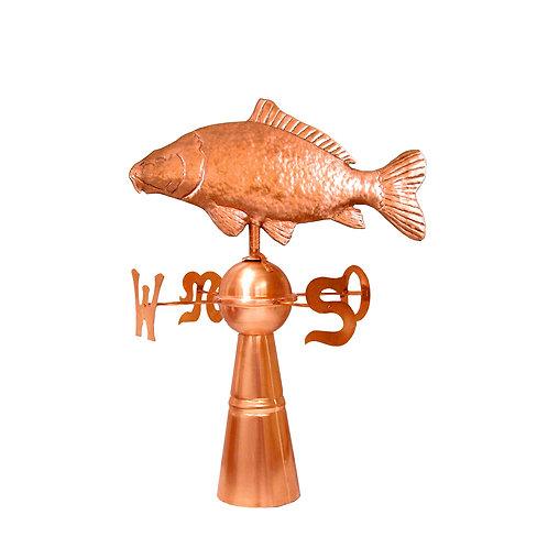 Wetterfisch mit Windrose