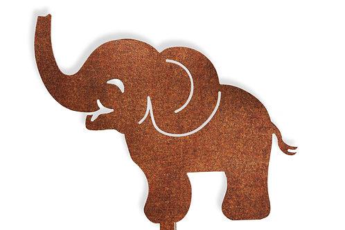 "Gartendeko ""Babyelefant"""
