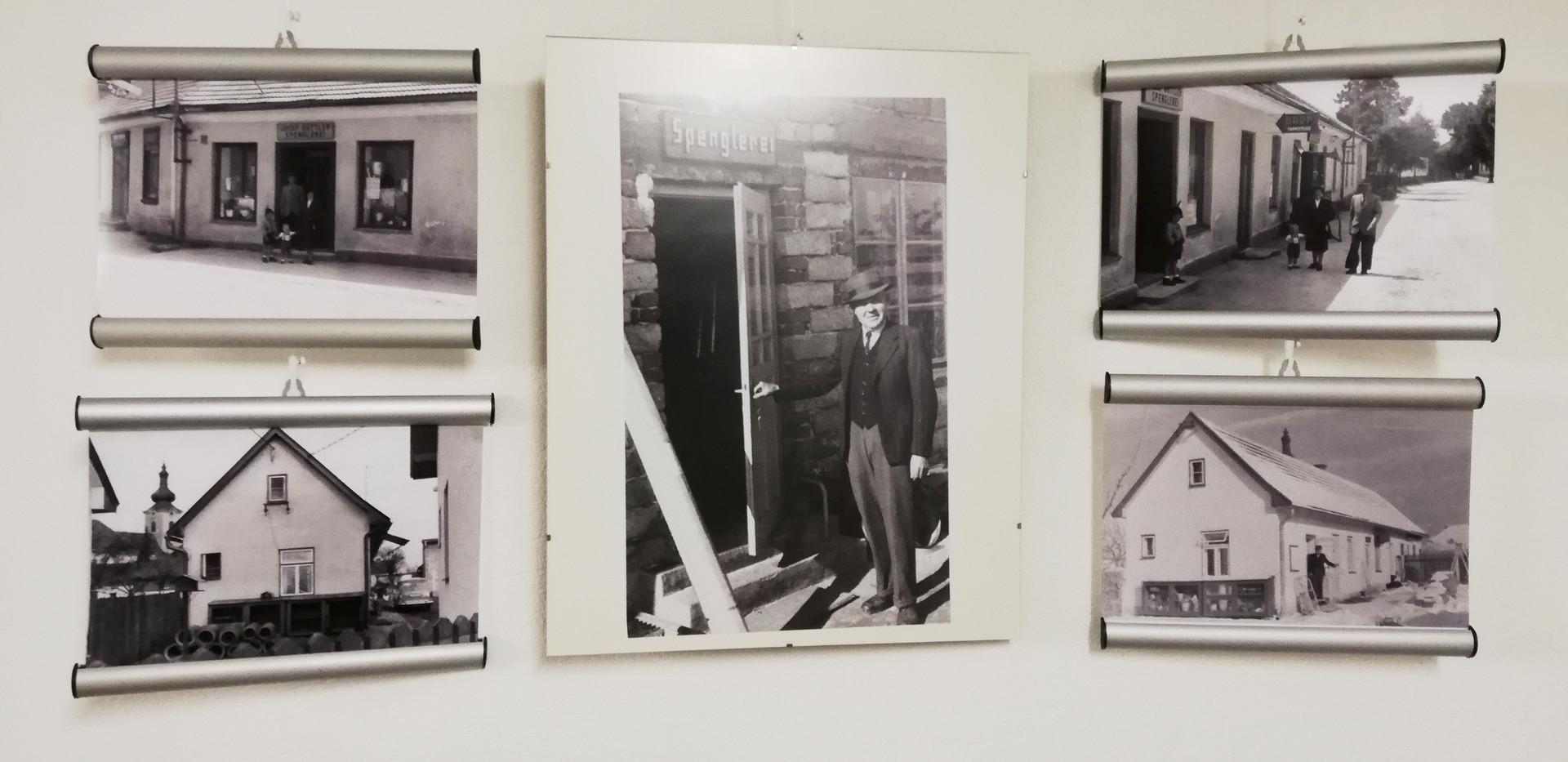 Bilder vom ersten Firmenstandort