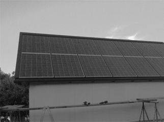 Indachanlage Photovoltaik
