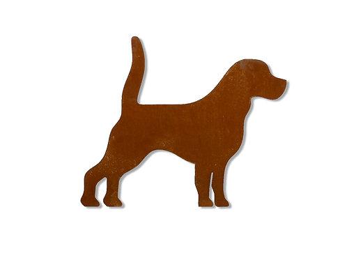 """Gartendeko """"Hund"""""""
