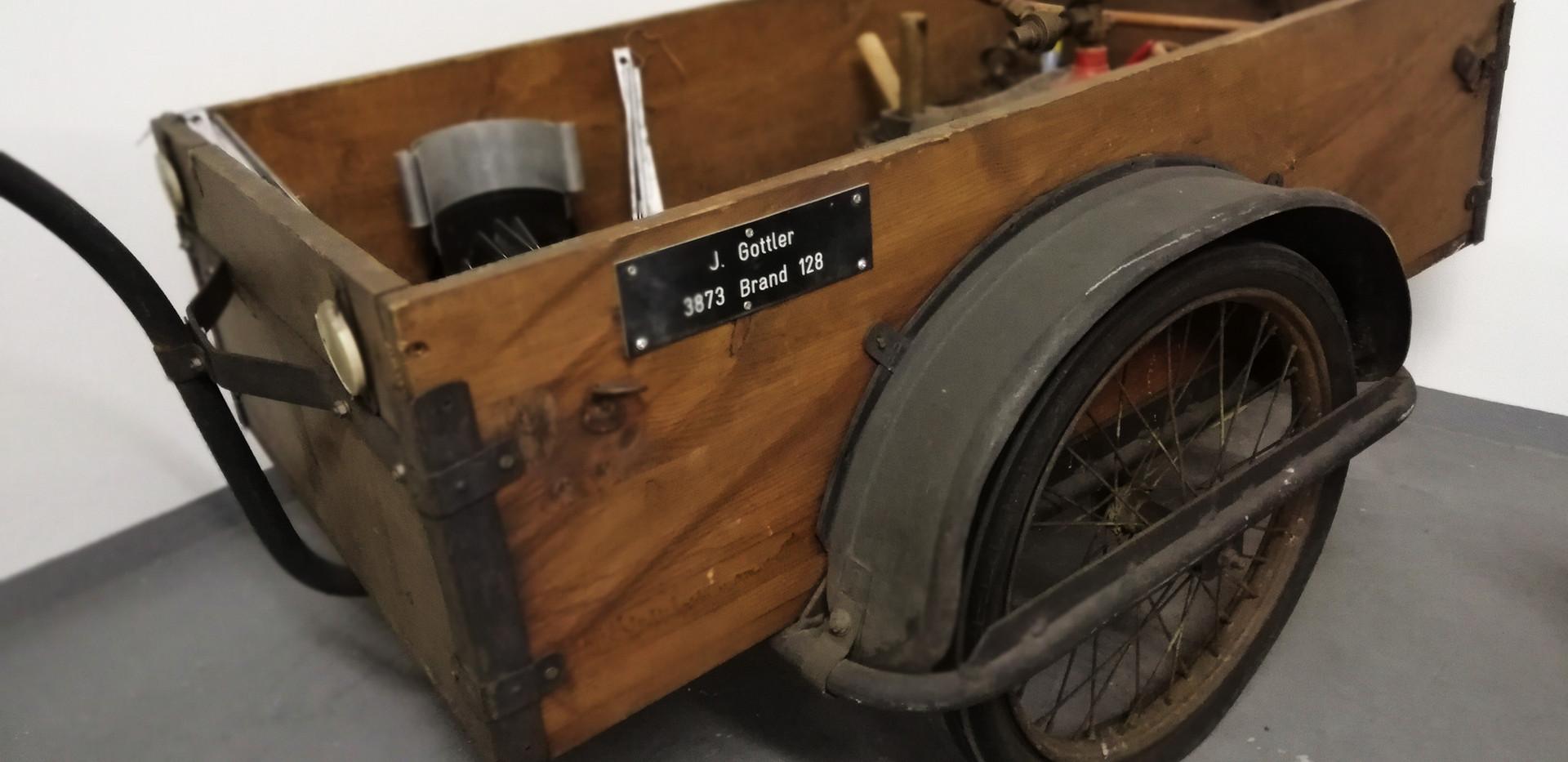 Original Moped-Anhänger