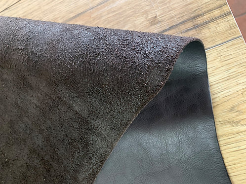 BRUNSWICK MILLED SIDE IN CHOCOLATE 1.5 - 2mm