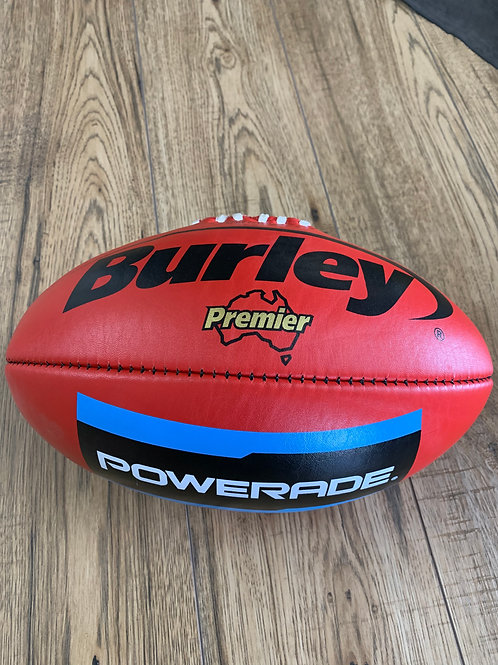 AFL LEATHER FOOTBALL -  SIZE 4 - RED