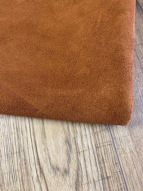 SUEDE DOUBLE BUTT IN TANNY BROWN  1 - 1.2mm
