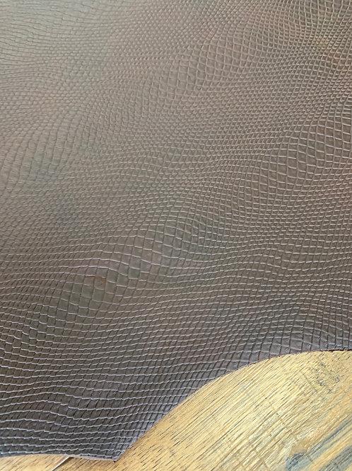 RATTLER EMBOSSED SINGLE BUTT IN HAVANNA  2.2 - 2.5mm