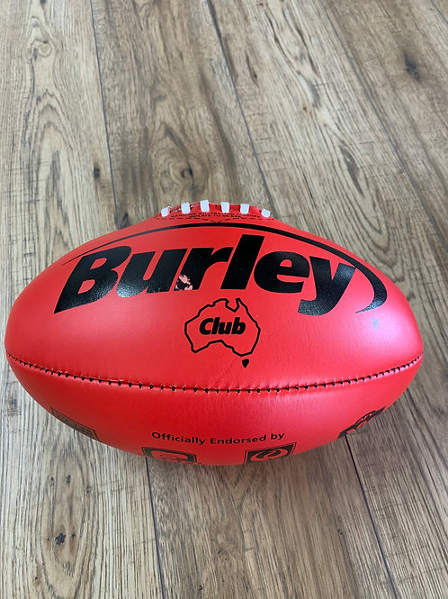 AFL LEATHER FOOTBALL -  SIZE 3 - RED