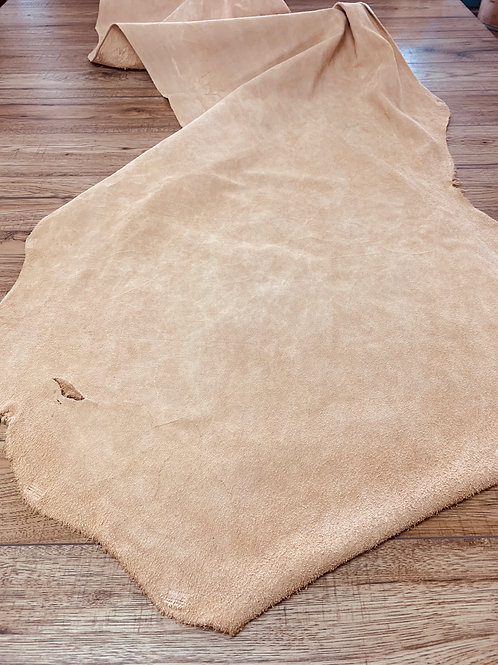 VEG TAN SUEDE SIDE IN NATURAL 1 - 1.2mm
