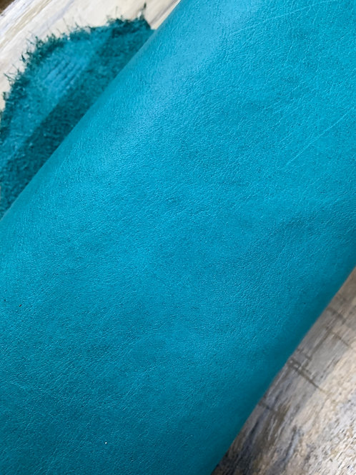 NAPPA HALF HIDE IN TURQUOISE 1 - 1.2mm