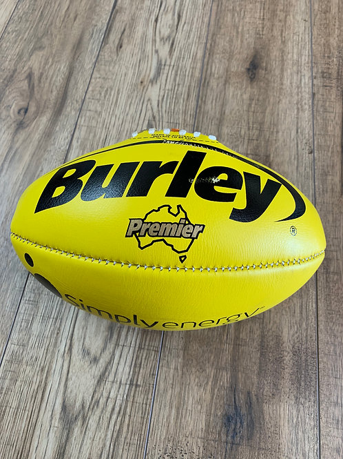AFL LEATHER FOOTBALL -  SIZE 2 -YELLOW