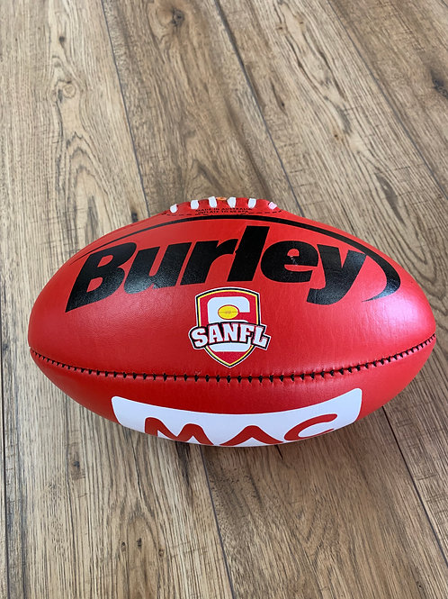 AFL LEATHER FOOTBALL -  SIZE 5 - RED