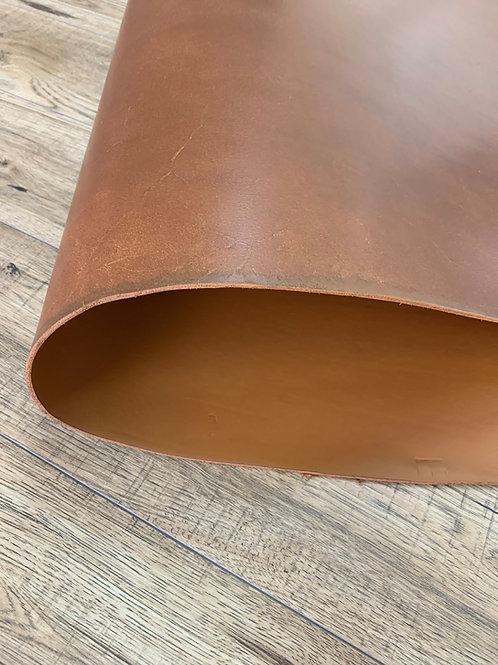 CANTERBURY VEG TAN DOUBLE BUTT IN TAN 3.5 - 4mm