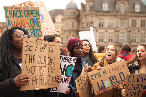 student climate protesters