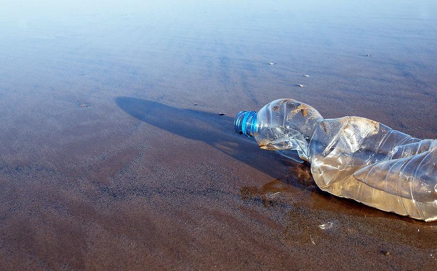 plastic pollution beach clean