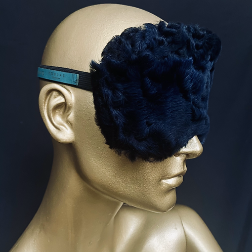 fluffy upcycled dream mask