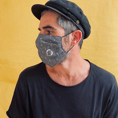 ANCHOR mask handmade from limited designer-fabrics