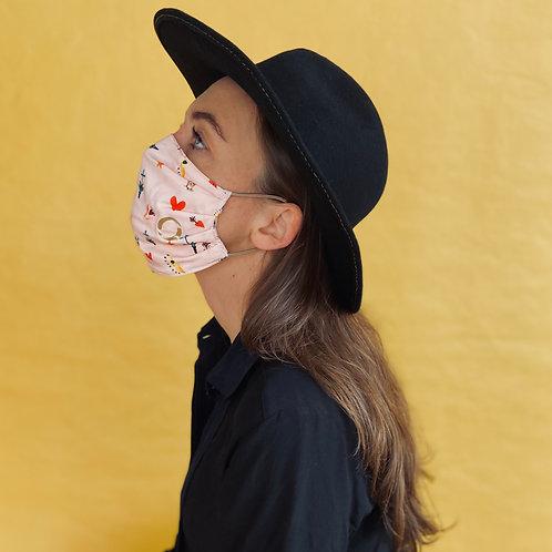 PRINCESS mask handmade from limited designer-fabrics