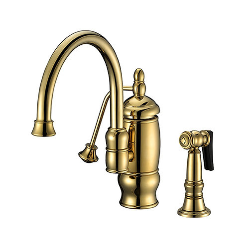 Kitchen Faucet with Pump Handle and Spray 1404