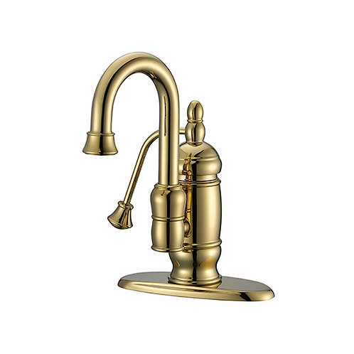 Bathroom single-Hole Lavatory Faucet with Pump Handle 3208