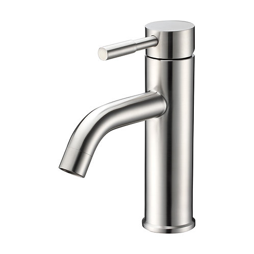 Bathroom Single-Hole Long Stainless Sink Faucet
