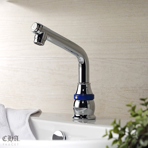 One Touch High Single-hole Lavatory Faucet