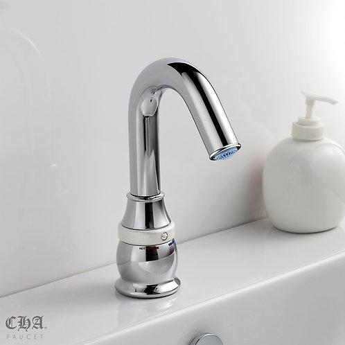 One Touch V Spout Single-hole Lavatory Faucet
