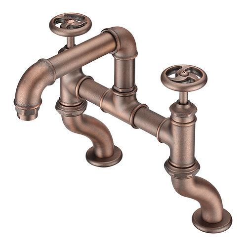 Loft Bathroom Deck-mounted Extension Tub Faucet LS13