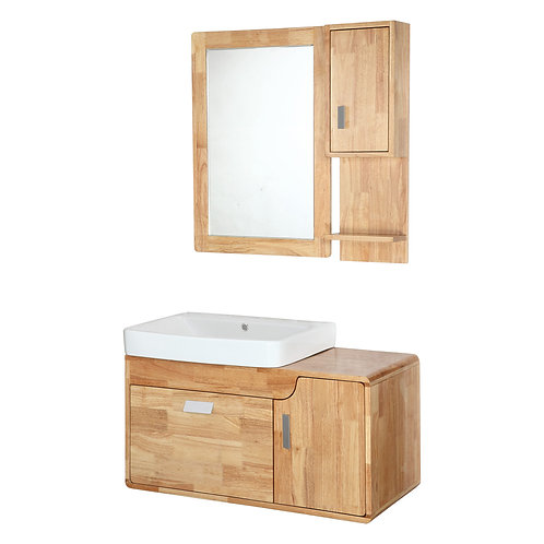 Bathroom Original Wooden Vanities with Mirror