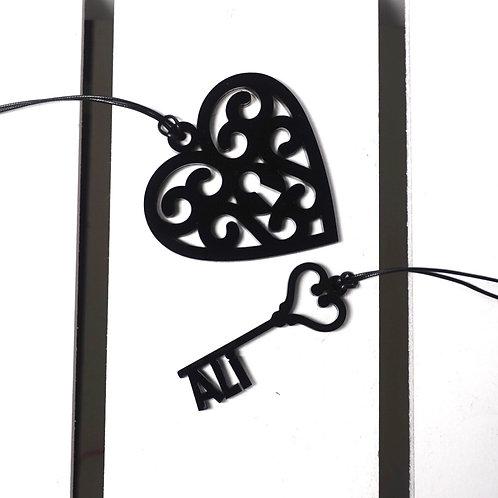 Key to My Heart تعاليق سيارة