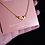"Thumbnail: ""strong"" Gold-plated necklace"