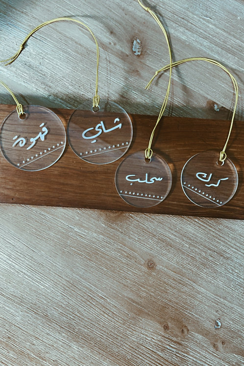 4 Kettle tags
