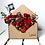 Thumbnail: Customised Wooden envelope flower box