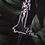 Thumbnail: Transparent Plexi glass Bride Cake Topper