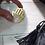 Thumbnail: Gold Plated Hamsa Brooch