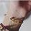 Thumbnail: Super Woman gold plated bracelet