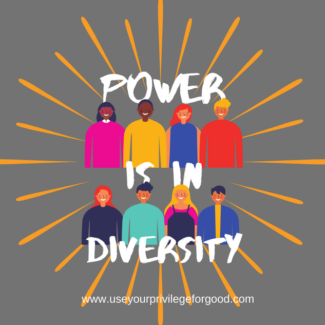 Power Is In Diversity.