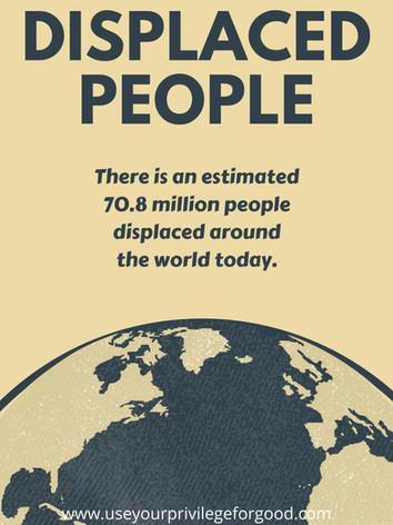 Displaced People.