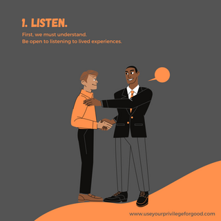 1. Listen