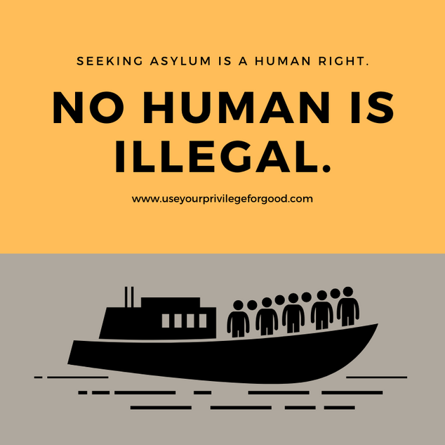 No Human Is Illegal.