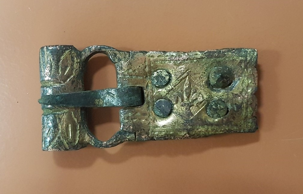 buckle from Montfort Castle