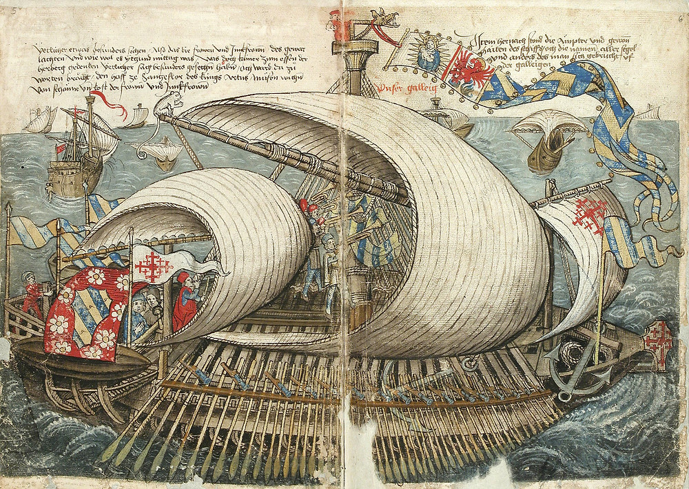 Venetian Pilgrim Ship