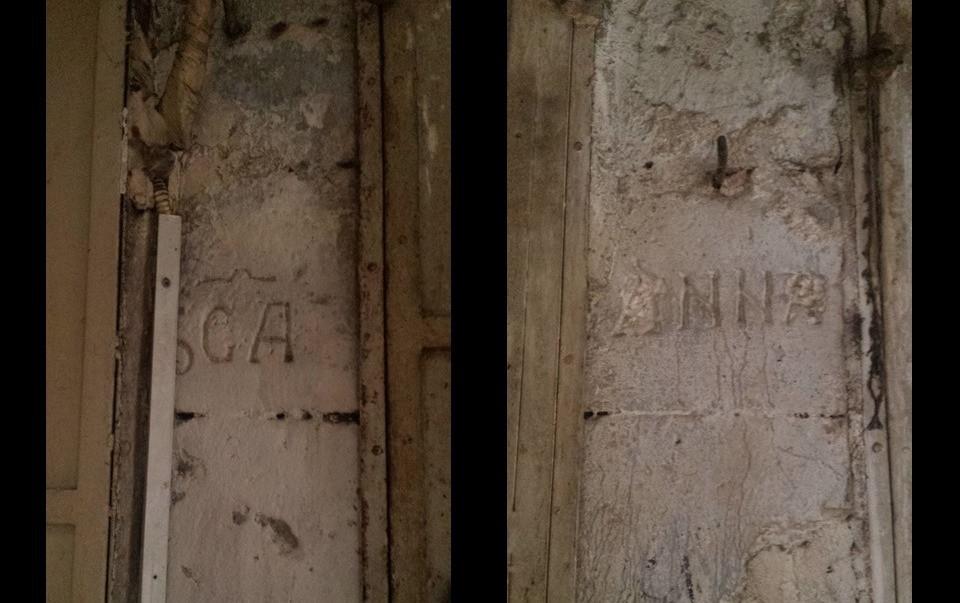 St Anne ownership marks, Jerusalem