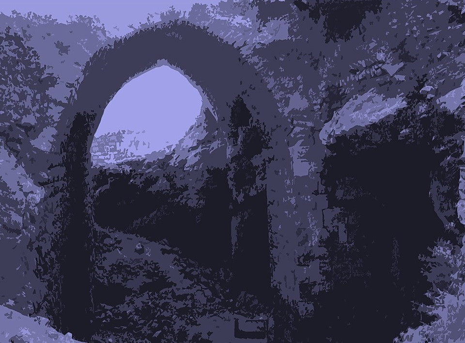 Akeldama Crusader Chancel Pit Jerusalem