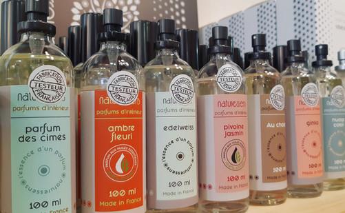 Collection de parfum d'intérieur