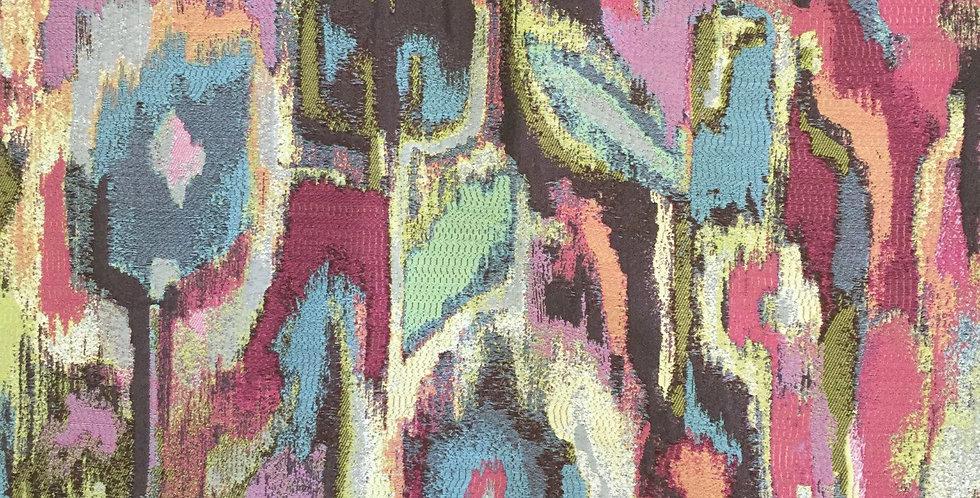 Fabric Art - Peacock