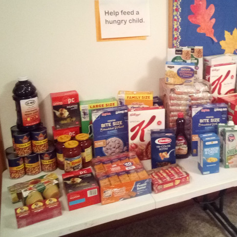Food Drive for the Learning Center